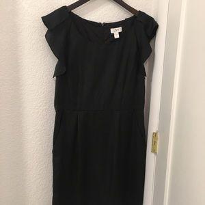 LOFT Little Black Dress sz:12